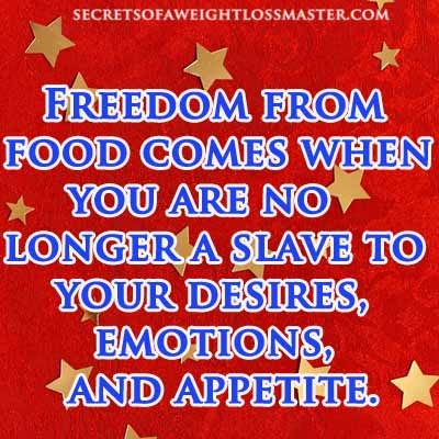 freedom from overeating