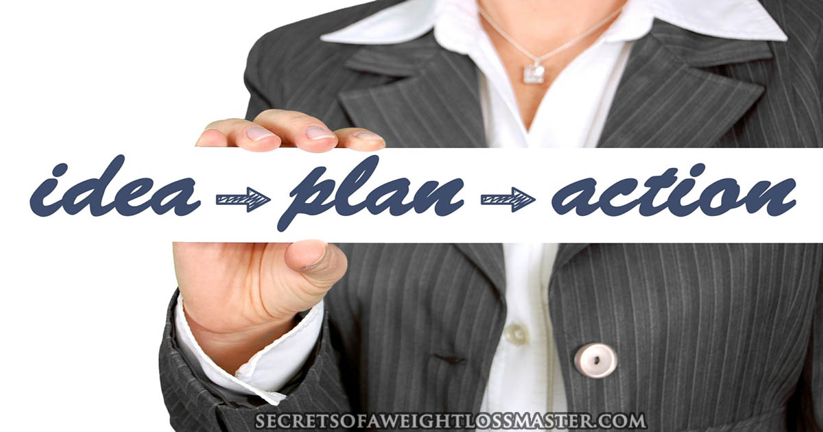 Weight loss success requires a plan of action.
