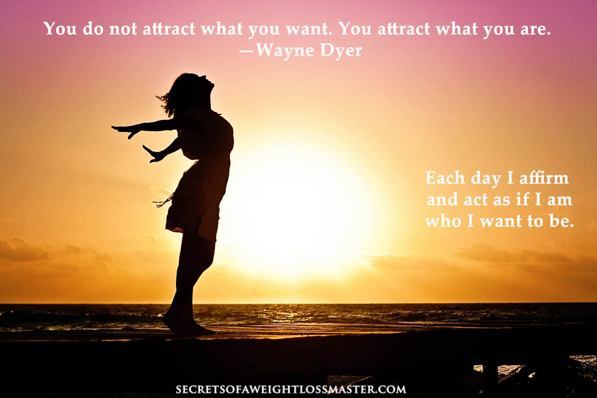 lose weight with the law of attraction